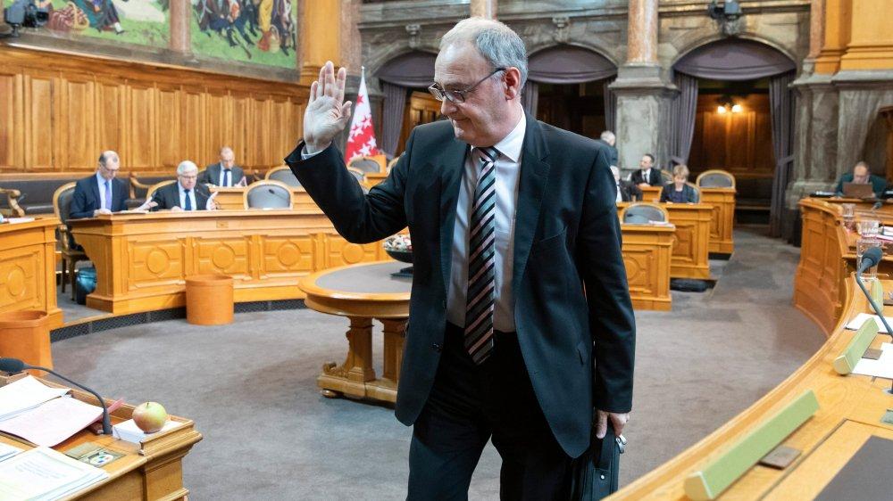 Le Conseil des Etats a soulagé le ministre de la Défense, Guy Parmelin, hier.
