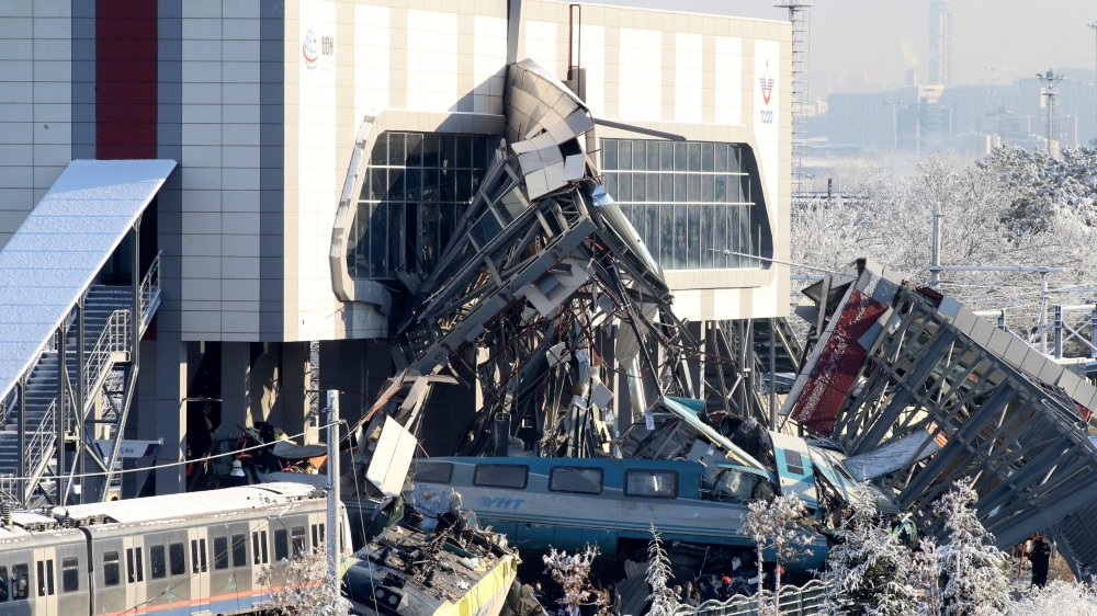 L'accident s'est produit non loin de la gare d'Ankara.