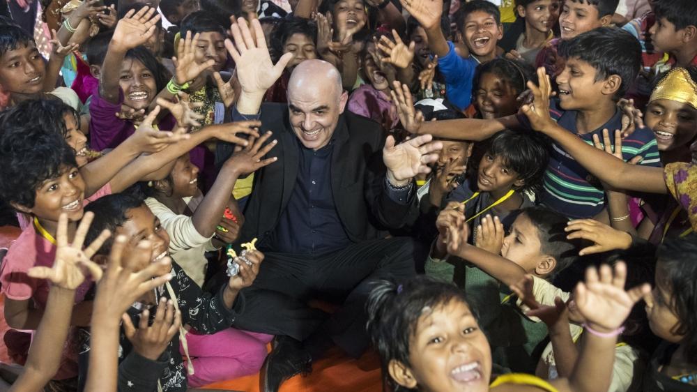 La rencontre avec les enfants rohingyas dans le camp de Cox's Bazar, au Bangladesh, a été, pour Alain Berset, «le moment le plus fort».