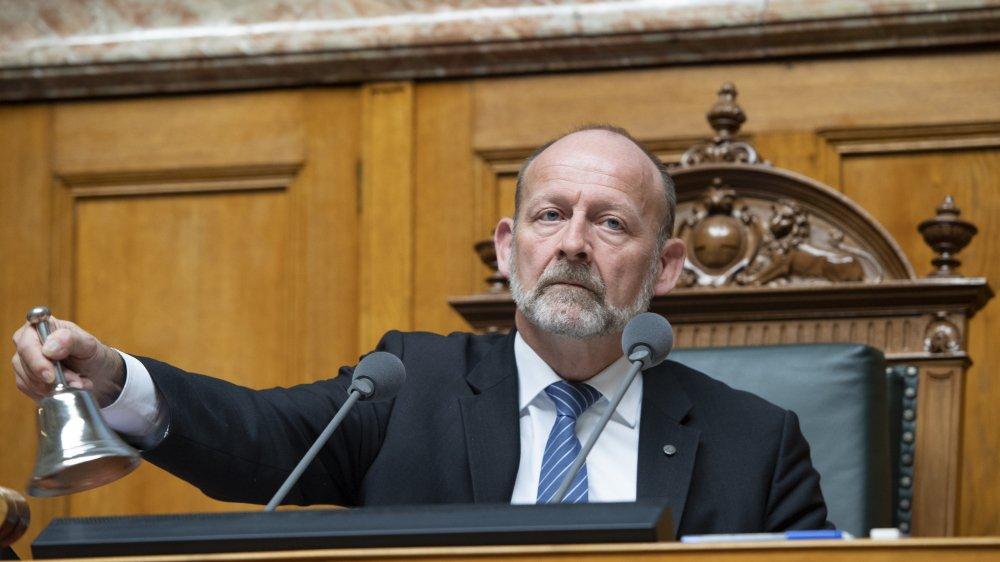 Faisant partie des ténors qui prennent leur retraite politique, le PDC fribourgeois Dominique de Buman reconnaît qu'il n'est pas toujours «aisé d'assurer la relève».