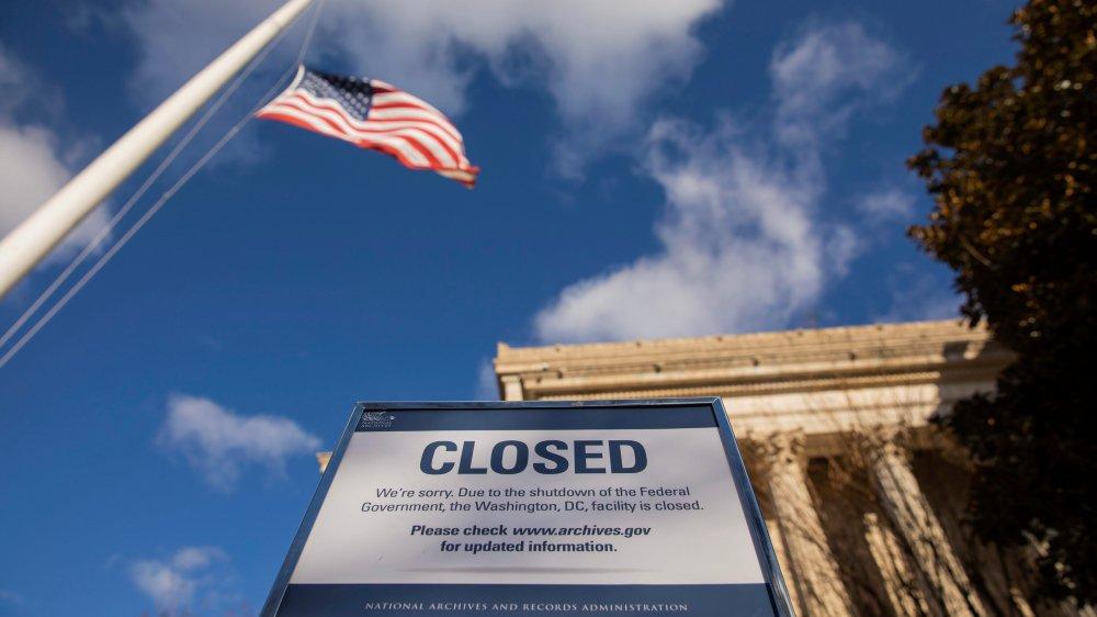 A l'image des Archives nationales, de nombreux ministères ou agences gouvernementales ont fermé leurs portes samedi matin.