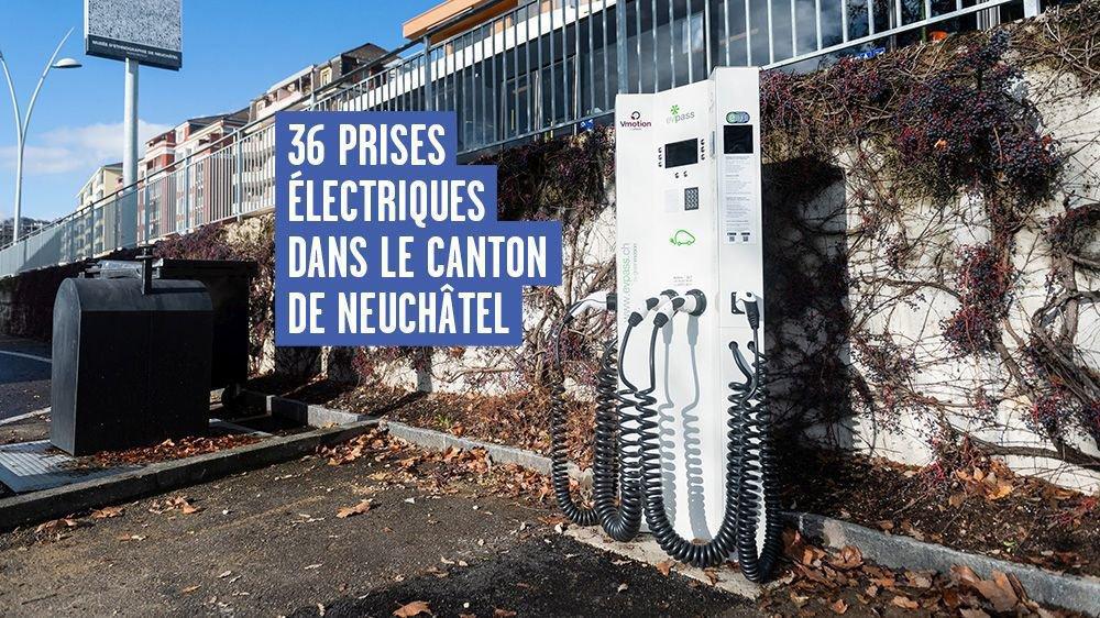 Huit nouvelles bornes seront installées à Neuchâtel