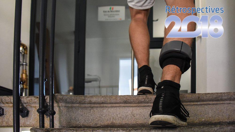 Le 1er janvier 2018, le bracelet électronique entrait en vigueur dans toute la Suisse, comme alternative à la prison, pour des peines de courte durée.
