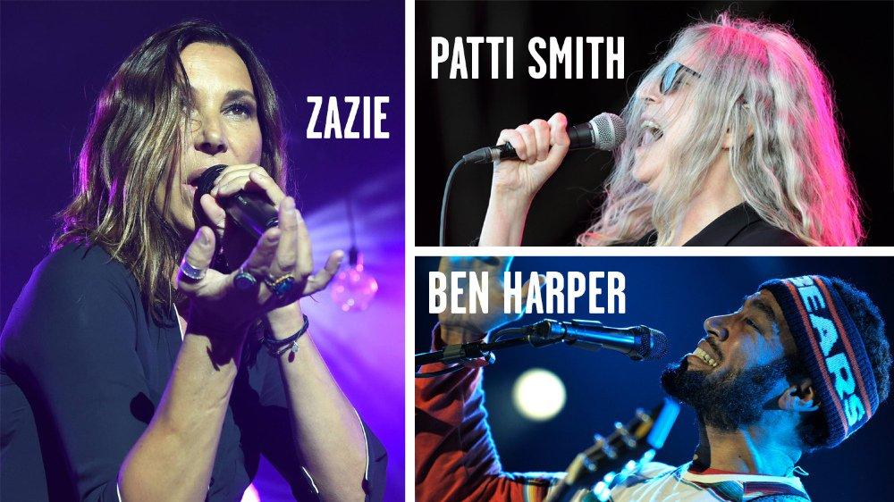 Patti Smith et Ben Harper, deux légendes du rock à Festi'neuch