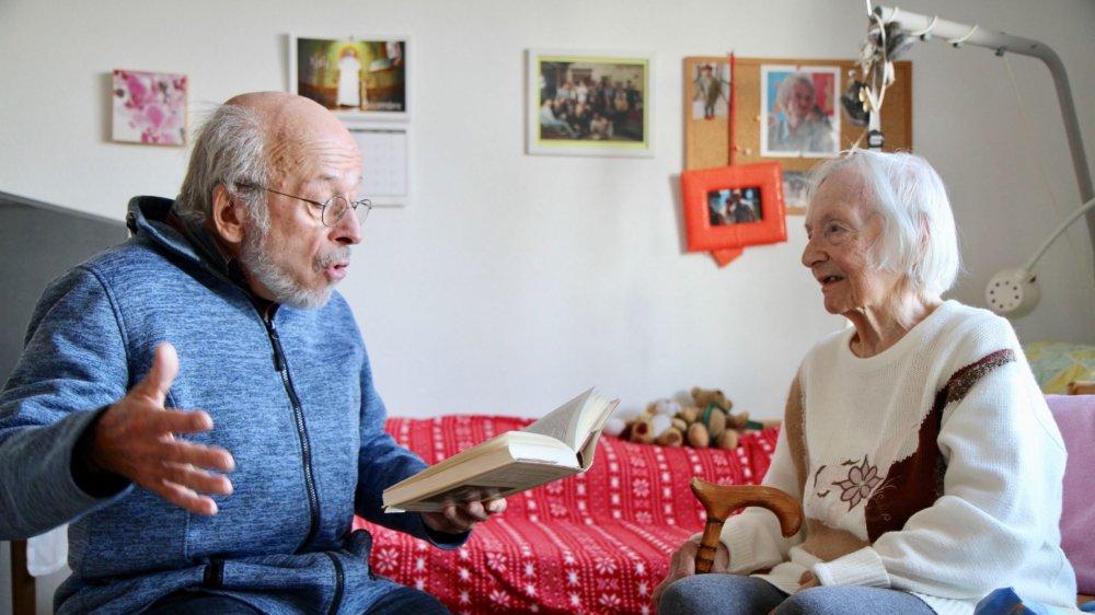 Lecture et Compagnie lutte contre la solitude des aînés, notamment.