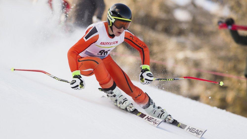 Owen Fischer du Ski-Club Chasseral est l'un des espoirs du Giron jurassien.