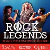 ROCK LEGENDS : The Doors Alive – Letz Zep – One Night of Queen