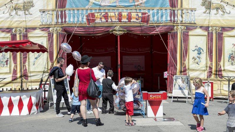 Le cirque Knie snobera La Chaux-de-Fonds pour son 100e anniversaire