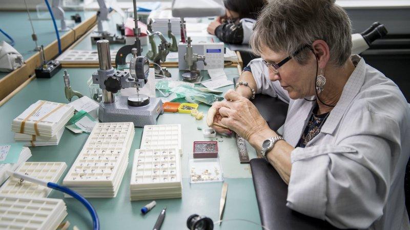 Visite de la manufacture horlogere Zenith au Locle.