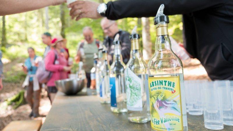 Les bleues du Val-de-Travers, ici durant Absinthe en fête, pourraient être labellisées dans le courant de l'année.