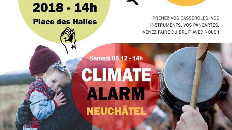 Climate Alarm, Marche pour le climat, samedi 08.12