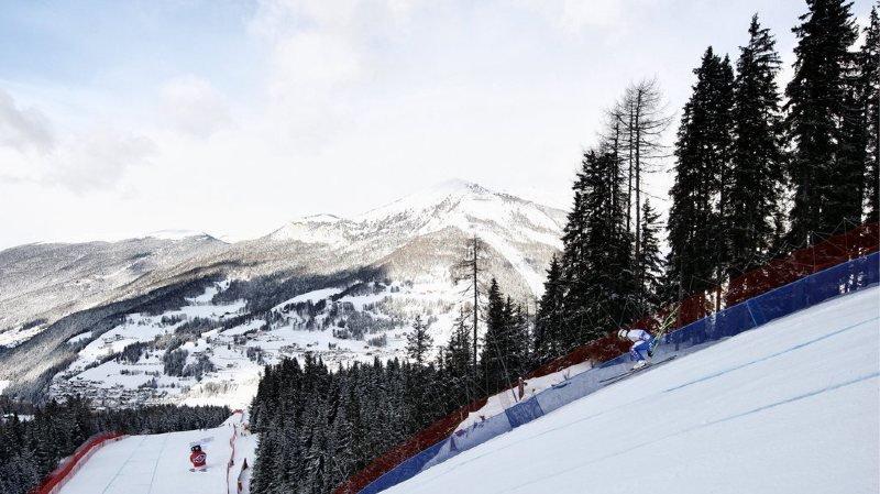 Val Gardena dans les Dolomites recevra l'épreuve féminine. (photo d'archives)