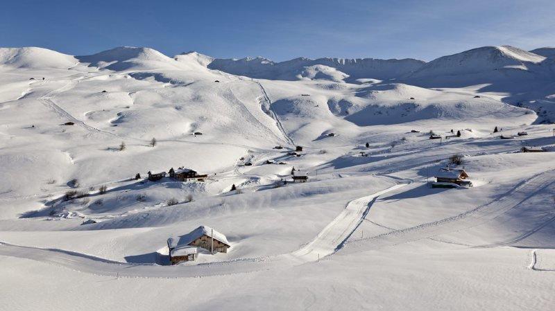 15 km de pistes, la plus longue piste de luge de Suisse (12 km), trois cabanes de montagne et 76 employés rien que pour vous, c'est possible.