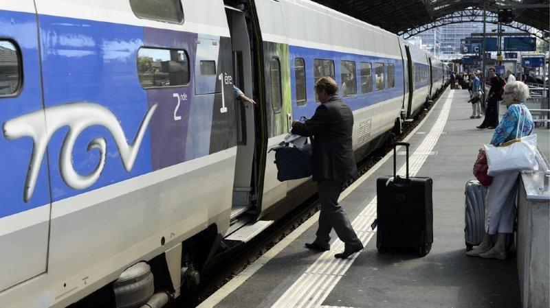 Transport ferroviaire: sans les grèves du printemps, le TGV Lyria aurait bouclé 2018 dans les chiffres verts