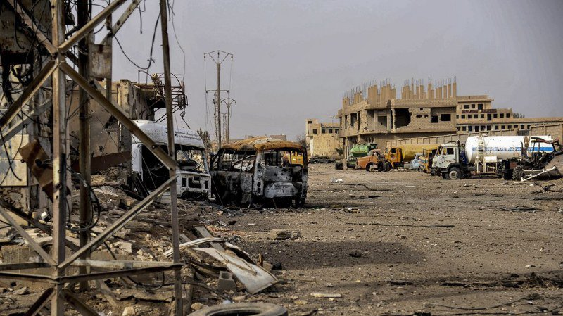 Donald Trump a proclamé mercredi la défaite de l'EI en Syrie, en soulignant qu'il s'agissait du seul objectif des forces américaines sur place.