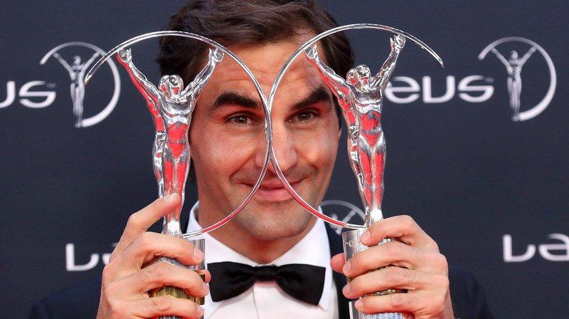Roger Federer est un habitué des récompenses. Le 27 février dernier, il a reçu à Monaco deux trophées lors des Laureus World Sports Awards 2018.