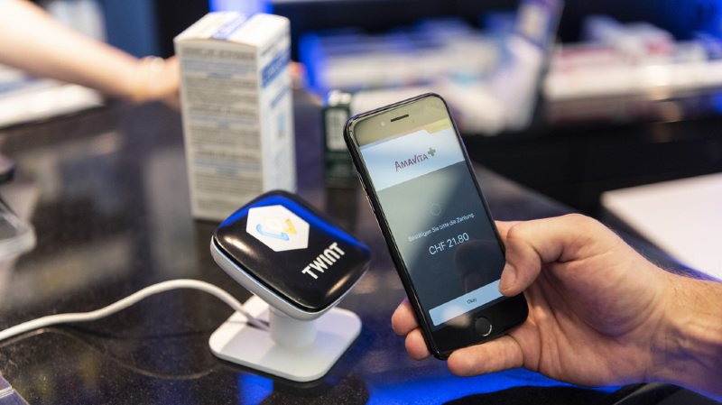 La solution Twint est portée par différentes banques helvétiques et le groupe financer SIX.