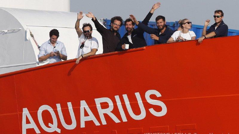 Crise migratoire: Médecins sans frontières et SOS Méditerranée mettent un terme aux opérations de l'Aquarius