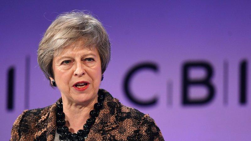 Theresa May rejette un second référendum sur le Brexit