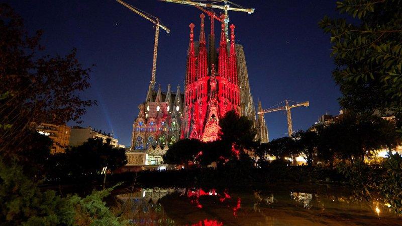 La ville de Barcelone est aux abois pour cette période des fêtes de fin d'année.