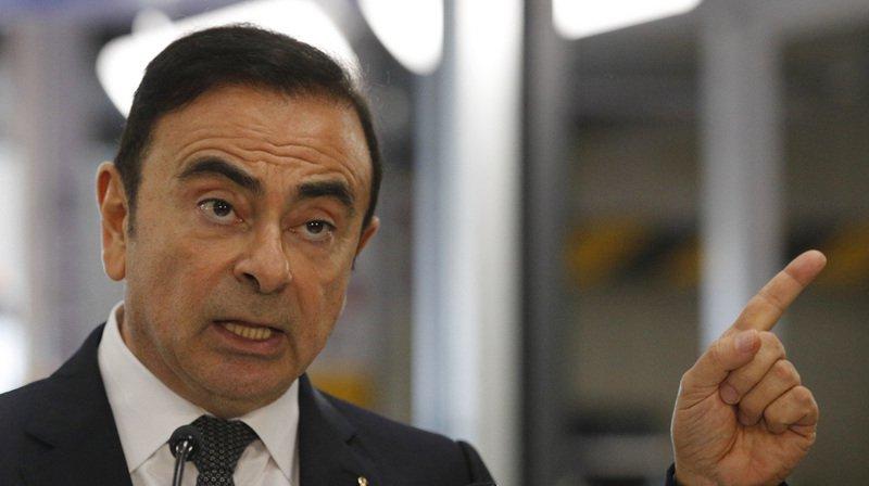 Automobiles: le dirigeant Carlos Ghosn inculpé au Japon pour dissimulation de revenus