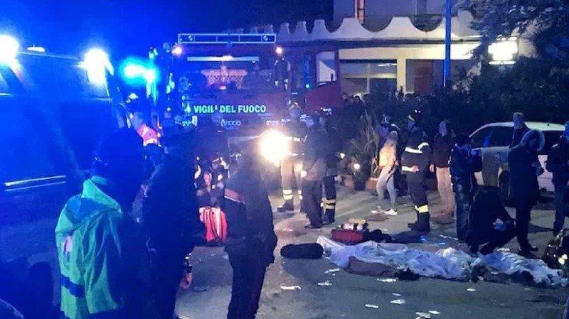 Italie: un mouvement de panique dans une discothèque fait 6 morts