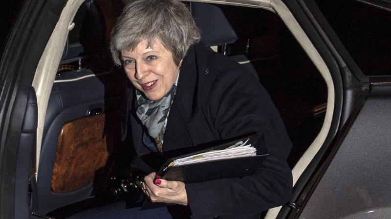 Theresa May a reçu le soutien d'une majorité de députés conservateurs.