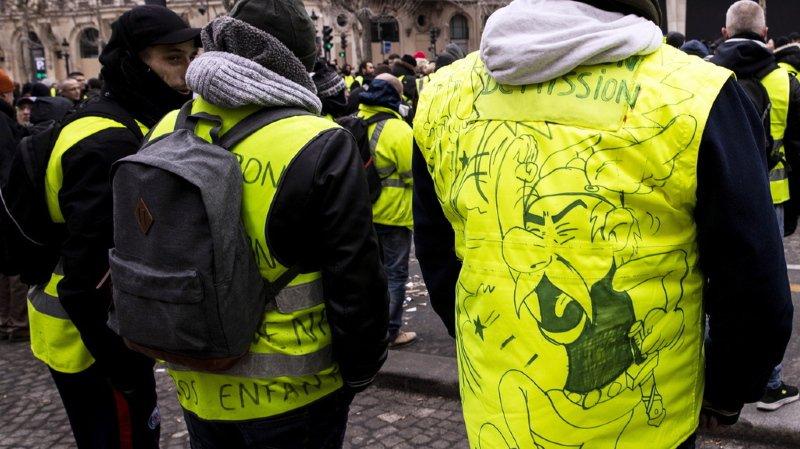 Une dixième personne est morte en marge des protestations des gilets jaunes (illustration).