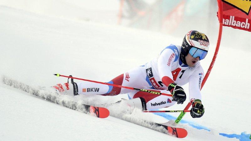 Ski alpin: premier podium pour Loïc Meillard qui termine 2e du géant de Saalbach