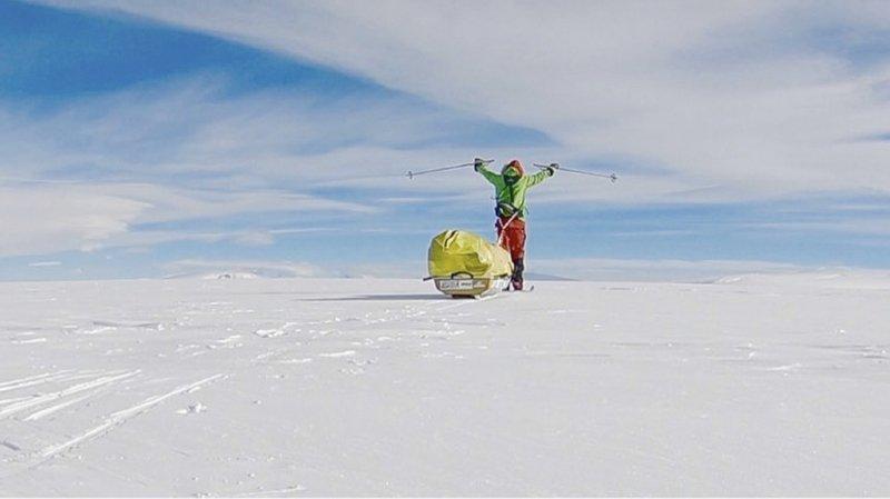 Exploit: un Américain traverse l'Antarctique en solo et sans assistance