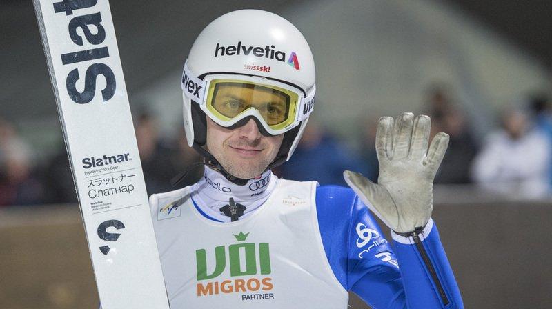 Saut à ski: Simon Ammann 6e de la Continental Cup à Engelberg