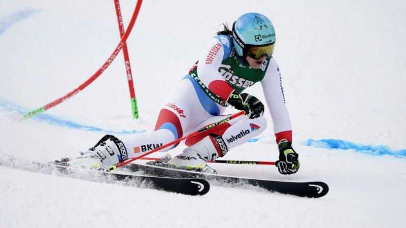 Ski alpin: Holdener sauve les meubles lors de la première manche du géant de Semmering, Shiffrin en tête