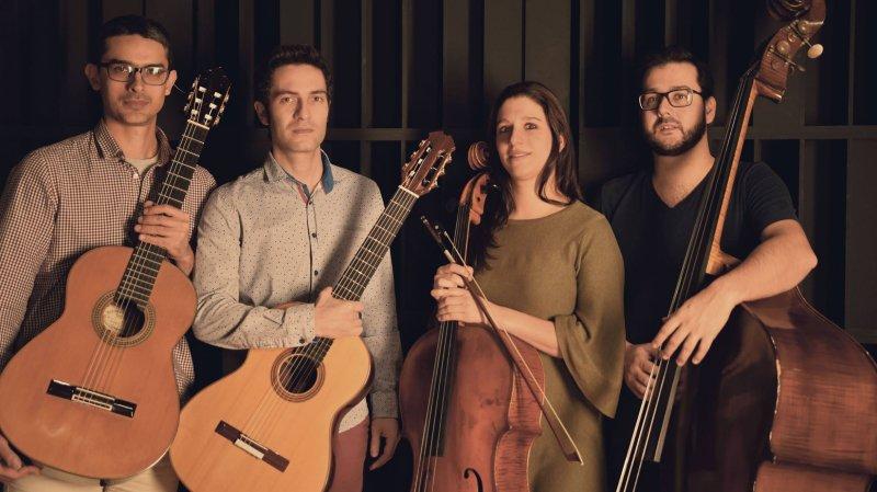 Quatro Vozes, musique brésilienne