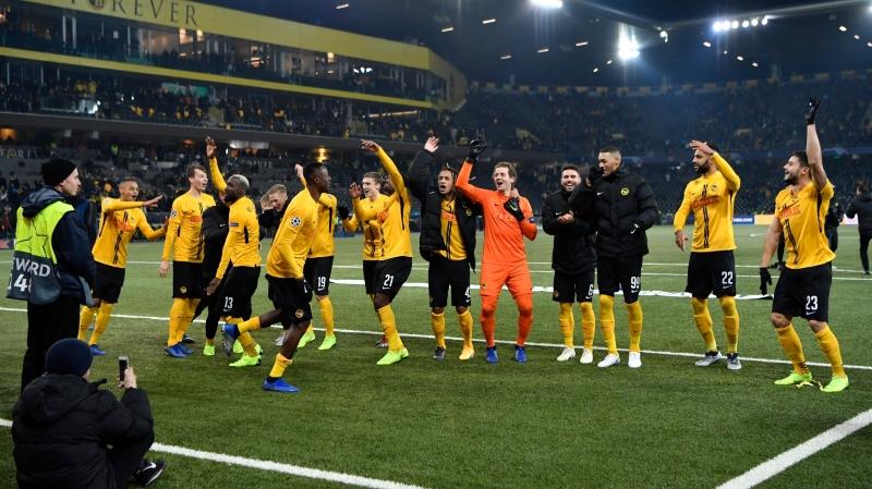 Les joueurs de Young Boys ont bien fêté leur victoire contre la Juventus, mais certains d'entre eux risquent de quitter le club bernois.