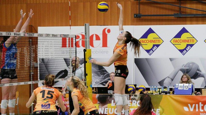 Volleyball: le NUC bat Cheseaux sans trembler à la Riveraine