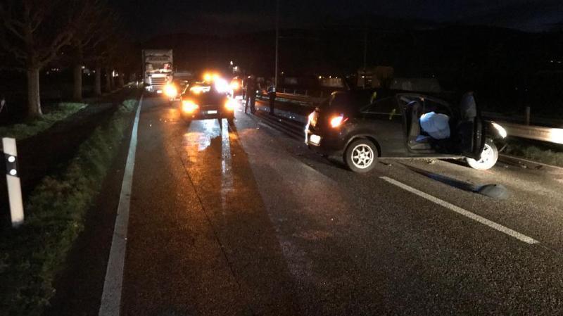 L'accident s'est produit ce jeudi vers 17 heures.