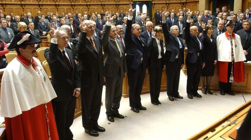 En 2003, Christoph Blocher entre au Conseil fédéral