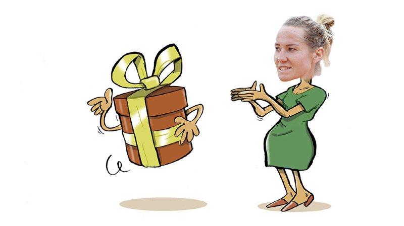 C'est cadeau! Une «wild card» pour Conny Perrin