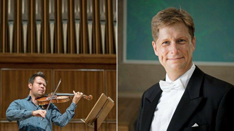 Le violoniste Félix Froschhammer et l'organiste Alexander Mayer interpréteront un répertoire allant du baroque à la musique contemporaine.