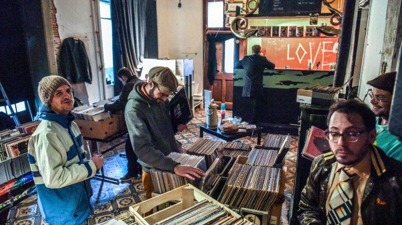 Les plus branchés ont participé à la Foire aux disques de La Chaux-de-Fonds
