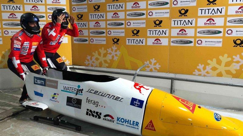 Yann Moulinier et son équipier Marco Tanner ont repris la compétition à Königsee.
