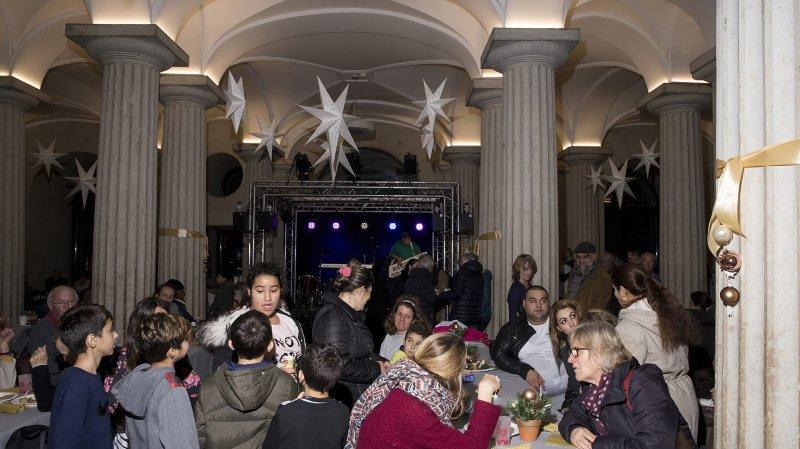 Près de 2000 personnes ont été accueillies à Neuchâtel par l'association Noël autrement.