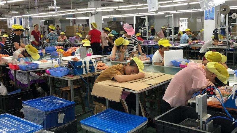 Jouets de Noël: travailleurs chinois exploités