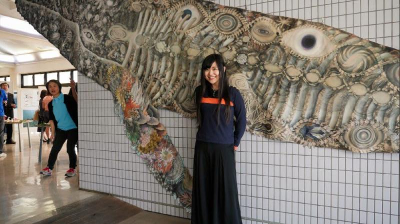 Une fresque à Paris veut sensibiliser l'opinion aux océans en péril