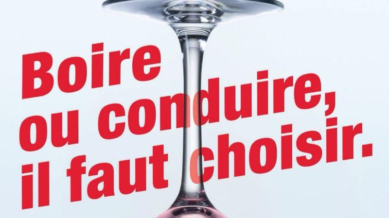 L'affiche de la campagne de sensibilisation.