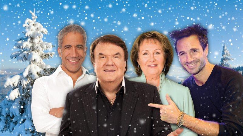 Alain Morisod avec ses Sweet & People, Mady Rudaz, Fred Vonlanthen et Julien Laurence.