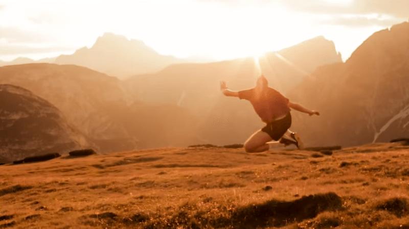 Un clip neuchâtelois tourné dans les Dolomites