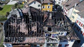 La prévenue accusée d'incendie par négligence à Auvernier condamnée mais pas sanctionnée