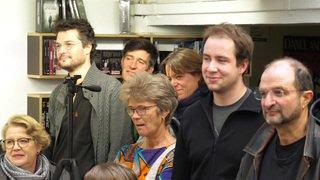 Virginia Markus, militante antispéciste, reçoit le Champignac d'or