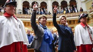 Élections au Conseil fédéral: la presse salue l'arrivée de deux femmes